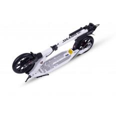 hulajnoga-aluminiowa-z-hamulcem-tarczowym-i-amortyzatorami-200mm-biala-Razzo