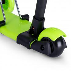 hulajnoga-trojkolowa-biedronka-5w1-regulowana-swiecace-kola-LED-zielona-Razzo
