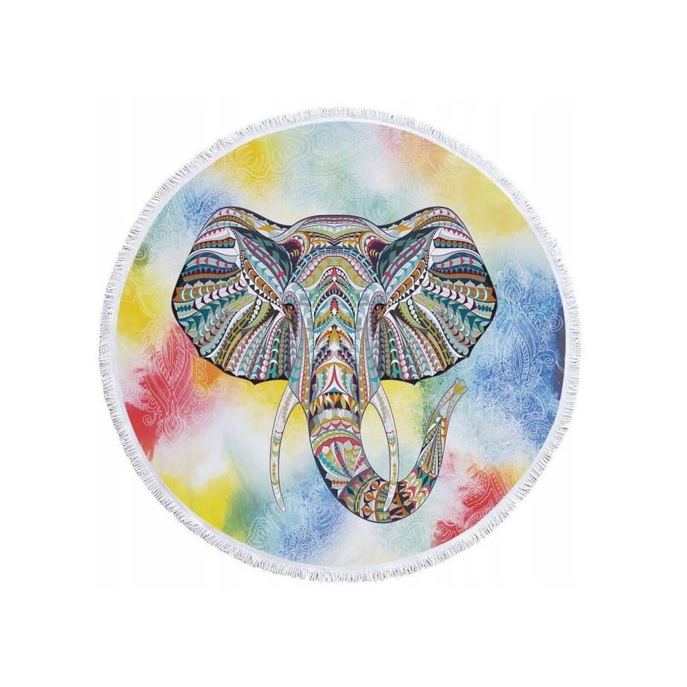 recznik-bawelniany-plazowy-okragly-slon-4camp-0