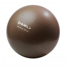 Piłka-gimnastyczna-z-pompką-65cm-brązowa-HMS_2