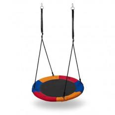 Huśtawka-bocianie-gniazdo-niebiesko-czerwono-pomarańczowa-śr.-90-cm-NB5003-NILS-CAMP_2