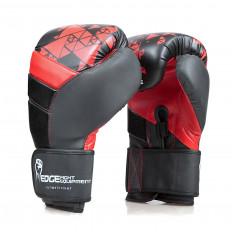 rekawice-bokserskie-skora-czarno-czerwone-rozmiar-14oz-Edge-2