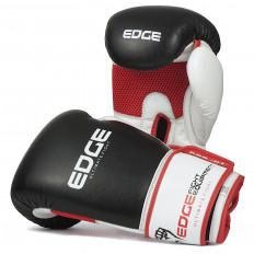 rekawice-bokserskie-treningowe-sparingowe-skora-czarno-bialo-czerwone-10-OZ-Edge-1