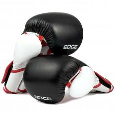 rekawice-bokserskie-treningowe-sparingowe-skora-czarno-bialo-czerwone-10-OZ-Edge-2