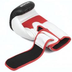 rekawice-bokserskie-treningowe-sparingowe-skora-czarno-bialo-czerwone-10-OZ-Edge-4