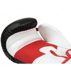 rekawice-bokserskie-treningowe-sparingowe-skora-czarno-bialo-czerwone-10-OZ-Edge-5