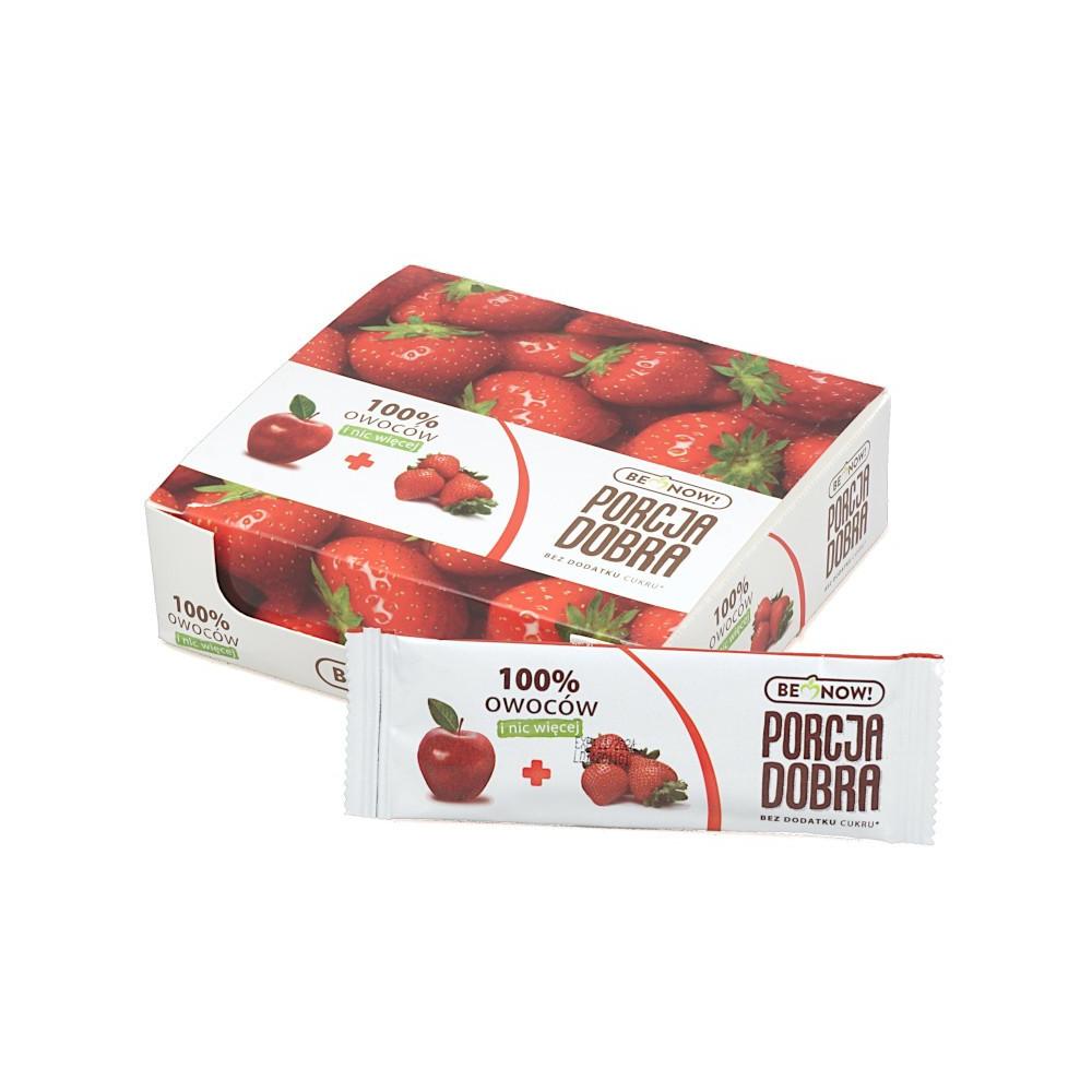 baton-zdrowa-naturalna-przekaska-smakolyk-jablko-truskawka-porcja-dobra-2