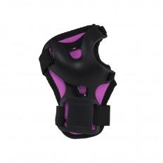 Ochraniacze-komplet-kolano-łokieć-nadgarstek-rozmiar-M-czarno-różowe-H210-NILS_4