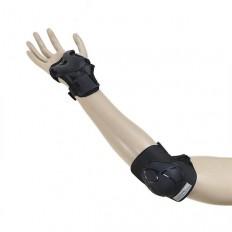 Ochraniacze-komplet-kolano-łokieć-nadgarstek-rozmiar-M-czarne-H210-NILS_5