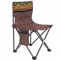 Krzesło-turystyczne_składane-kempingowe-fotel-KT02-brown-4CAMP_1