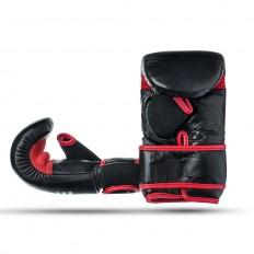 Rekawice-przyrzadowe-na-worek-treningowe-czarno-czerwone-skóra naturalna-rozmiar-M-EDGE-1