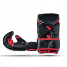 Rekawice-przyrzadowe-na-worek-treningowe-czarno-czerwone-skóra naturalna-rozmiar-XL-EDGE-1