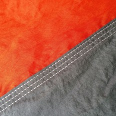 hamak-turystyczny-nylonowy-na-kemping-pomarańczowo-szary-4CAMP-3