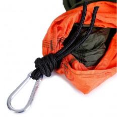 hamak-turystyczny-nylonowy-na-kemping-pomarańczowo-szary-4CAMP-5